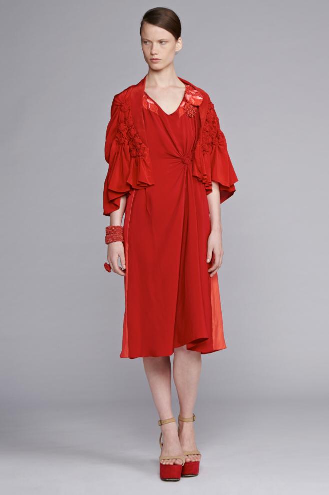 210/S141541E Spiral V-Neck Dress with Tuck     210/S141541E Spiral Shibori V-Neck Dress with Tuck     530/S141885 Spiral Shibori Bolero