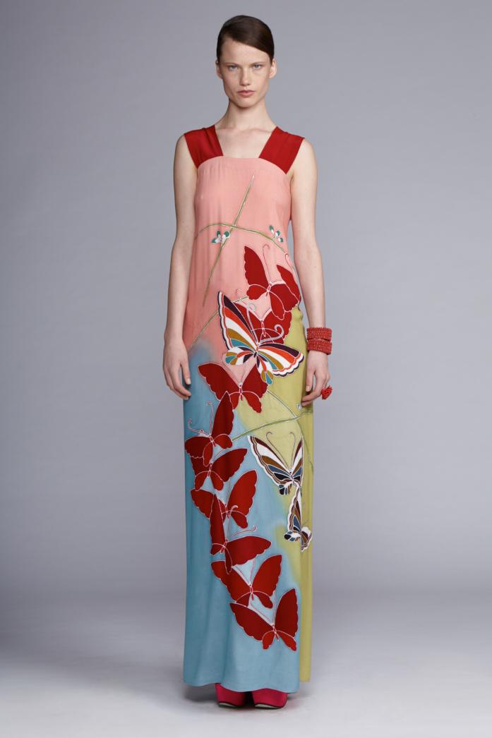 715/S141489AL Strap Dress Long