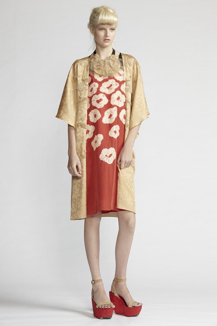 160/F21489 Strap Dress    130/F29086 Beaded Kimono