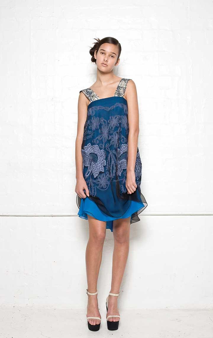 100/S01388A Strap Dress