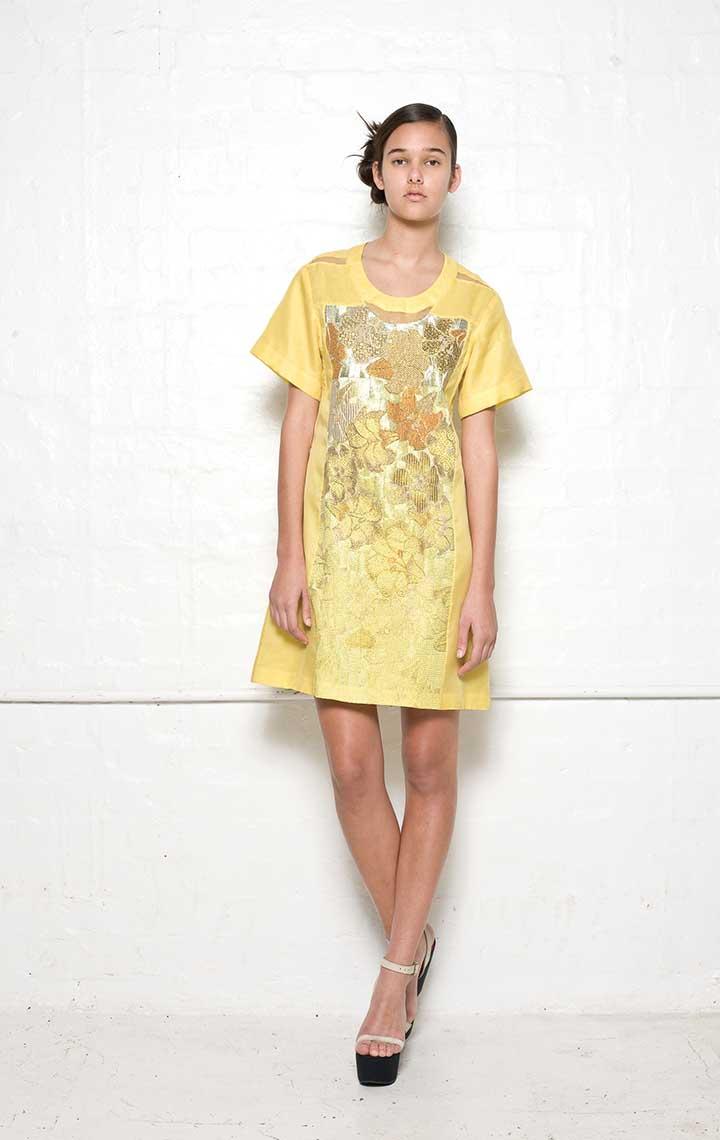 105/S01390N Cut Out Dress
