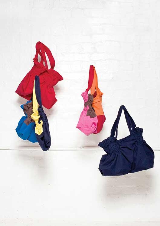 900/S07367 Spiral Shibori Bags