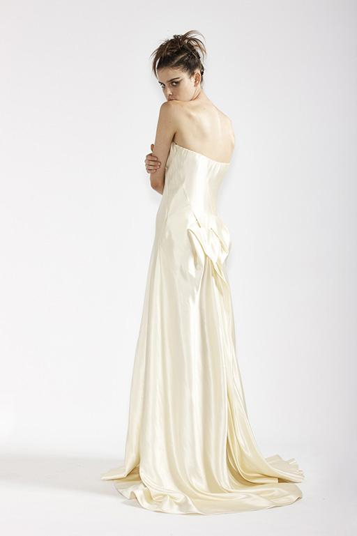 115/A91357 Origami Back Wedding Dress