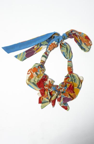 900/F07415 Spiral Shibori Neckpiece