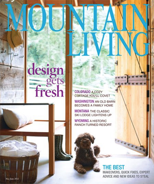 Mountain Living  magzine