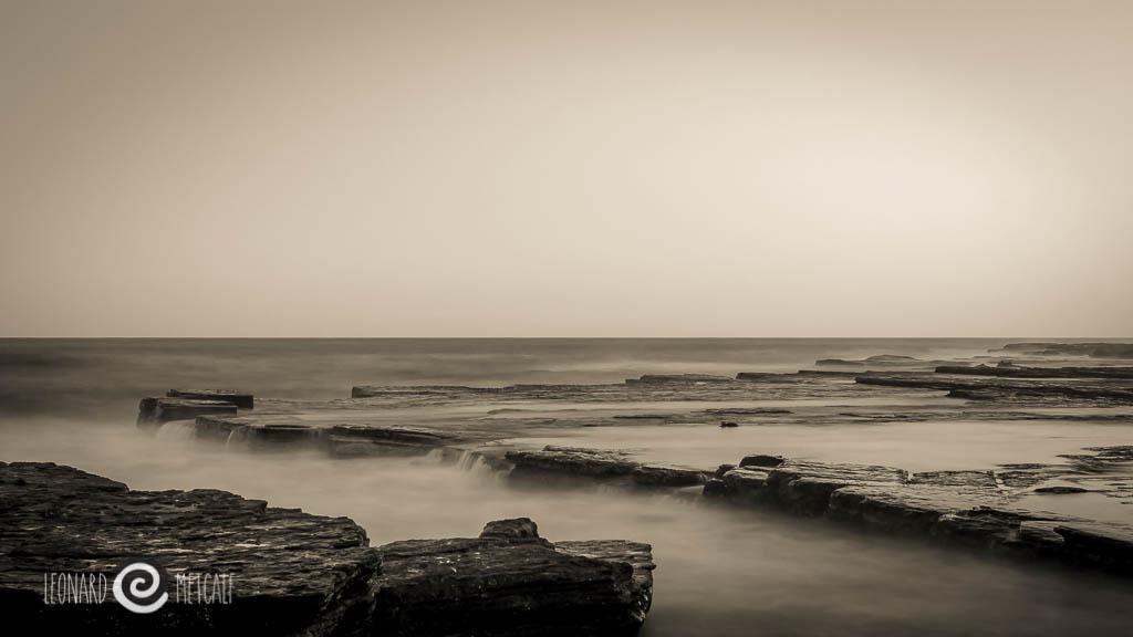 Sydney coastline - Northern Beaches © Leonard Metcalf 2012