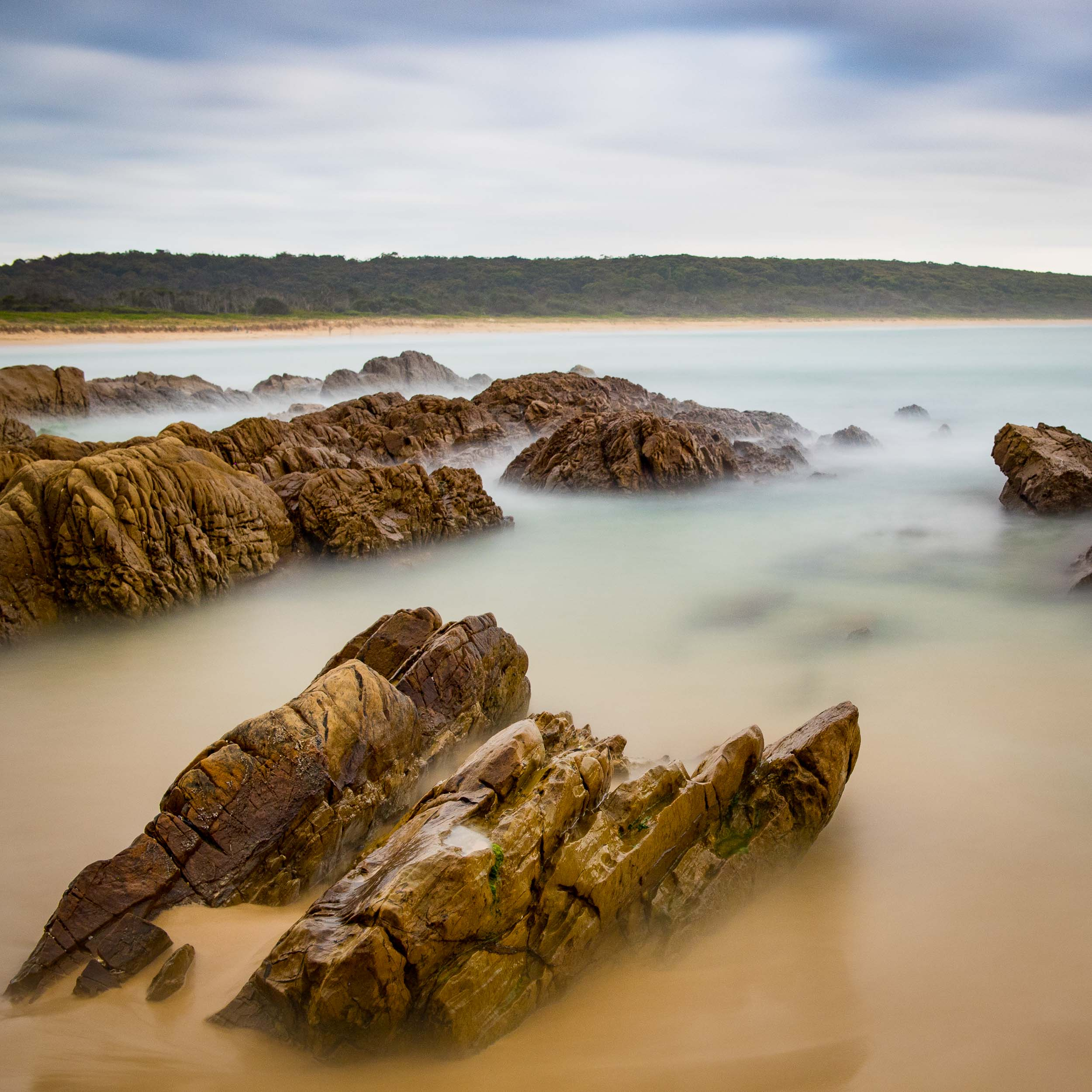 Seascape workshop 2014 - Eurbodalla Coast NSW © Len Metcalf 2015