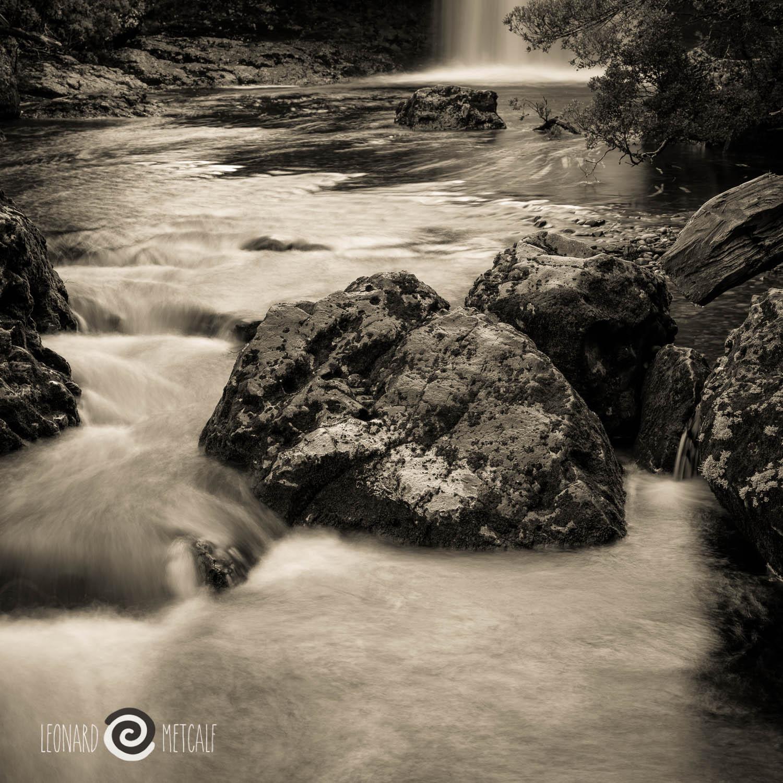 Pencil Pine Creek, Cradle Mountain, Tasmania © Len Metcalf 2015