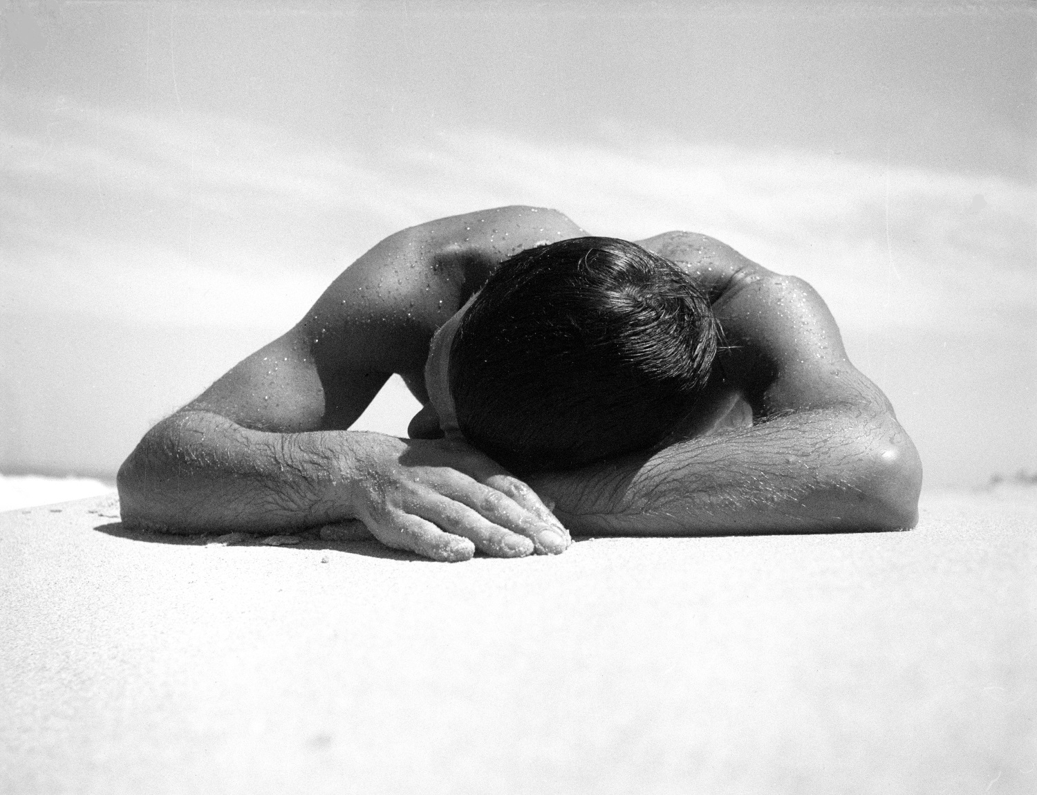 Sunbather, Photograph Copyright © Max Dupain - courtesy Light and Shadow Gallery, Leura