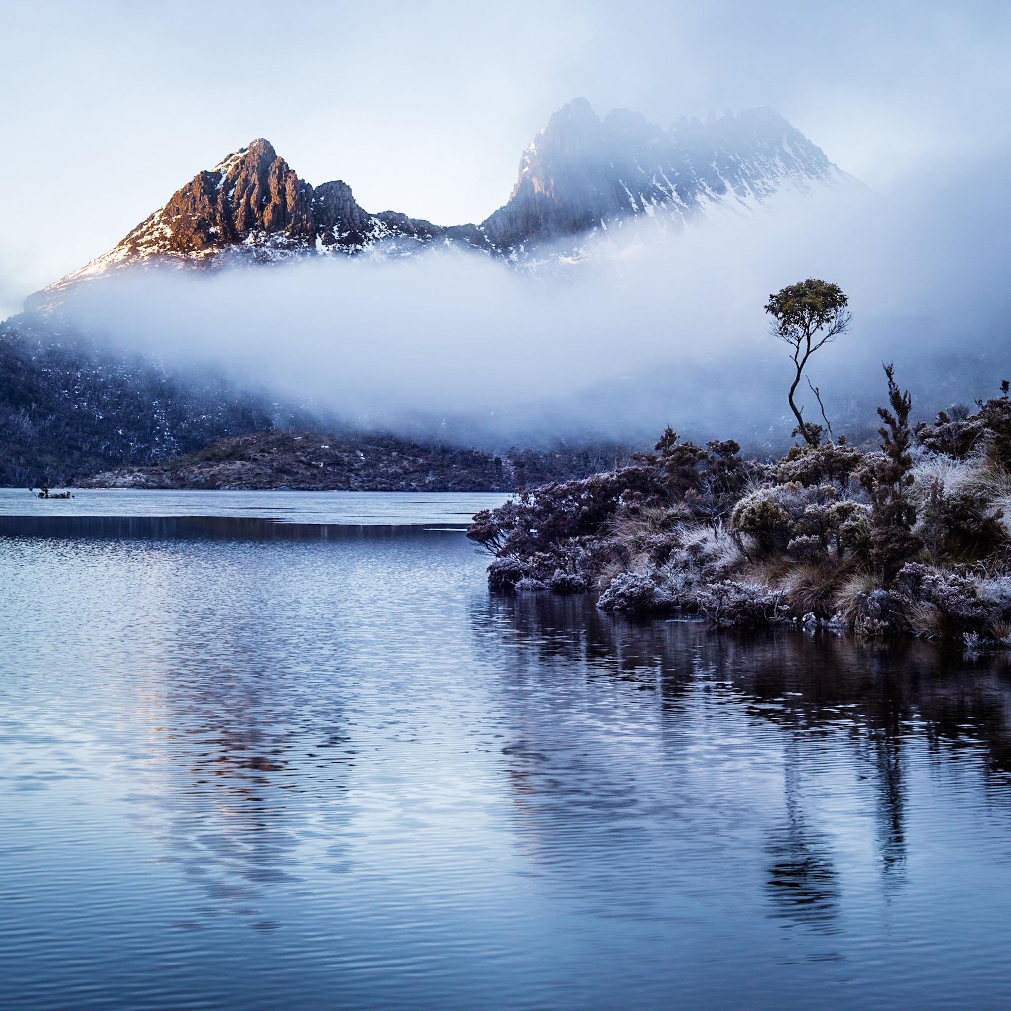 Cradle Mountain and Dove Lake. Photograph copyright © Len Metcalf 2019