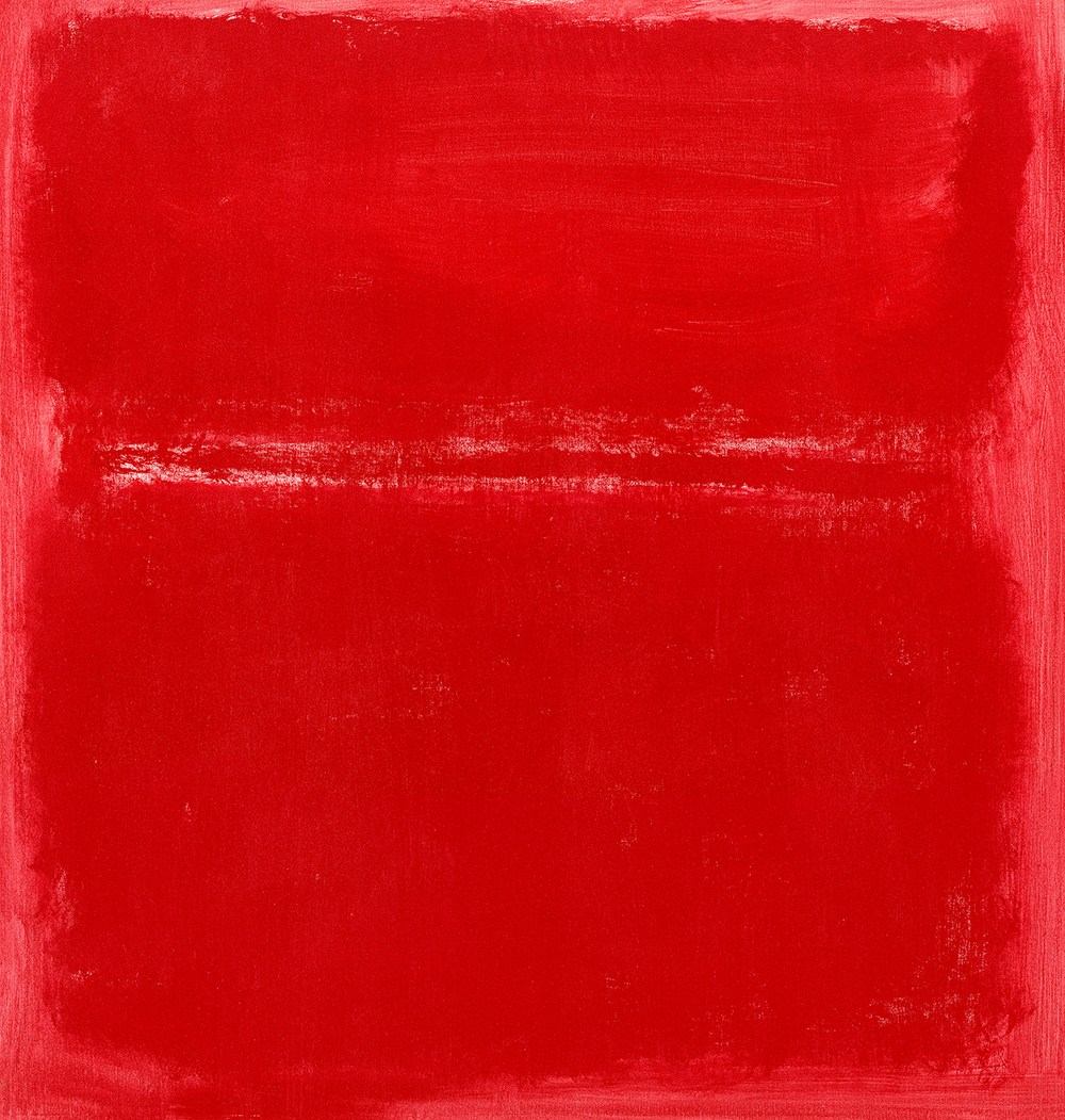Untitled (Red) 1970 Mark Rothko