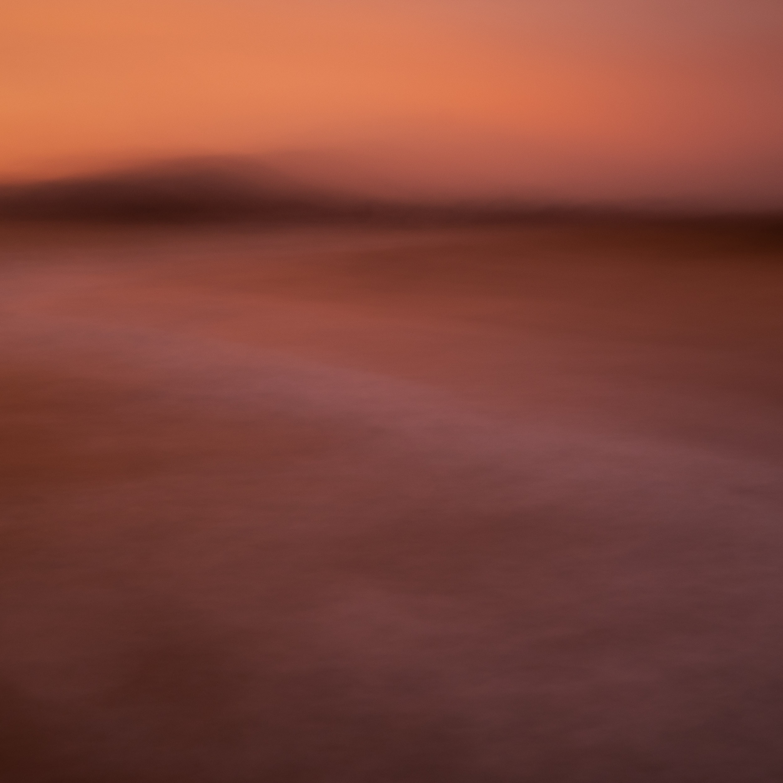 Keep the camera still. This long exposure was created by moving the camera for 30 or more seconds.