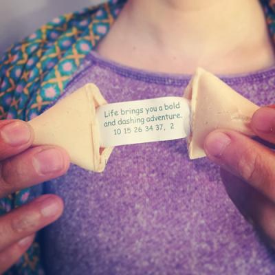 Adventures Fortune Cookie, photo by Diana Toledano