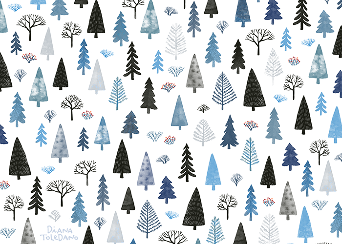 diana-toledano_winter-forest-pattern.png