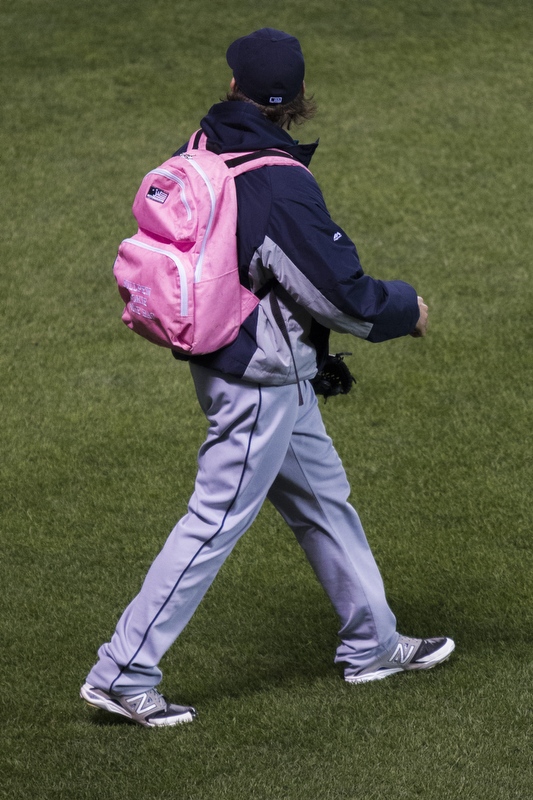 Rookie bullpen backpack.