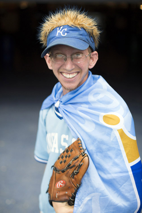 Chris Coats has attended every Royals home game in the last 10 years.