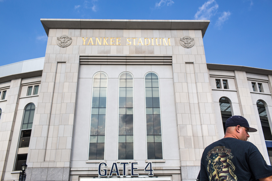 Gate 4. Yankee Stadium.