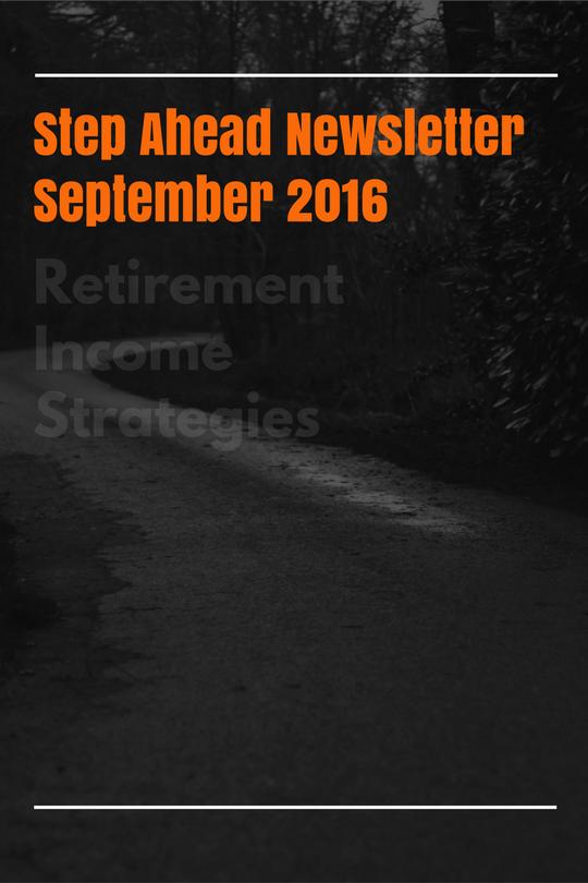 Yield Financial Planning September 2016