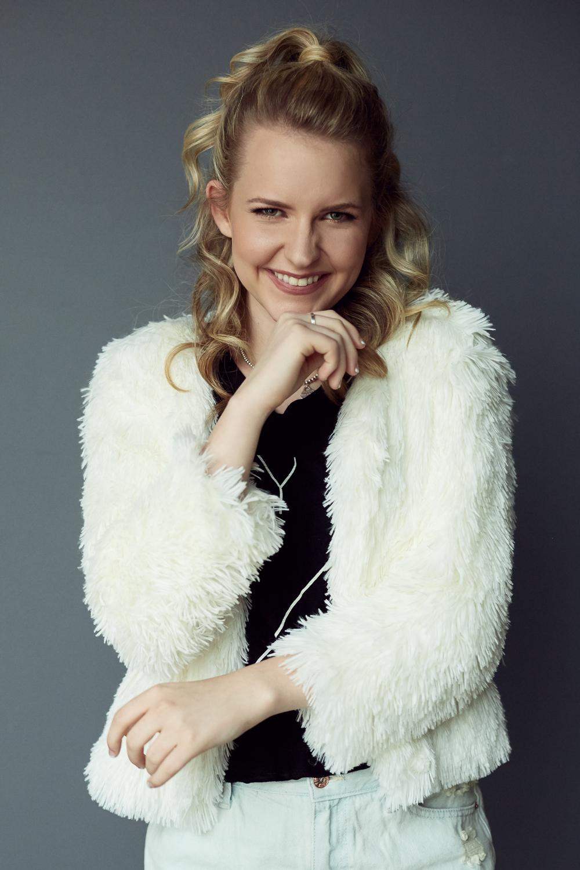 Top & Coat: Molly Green