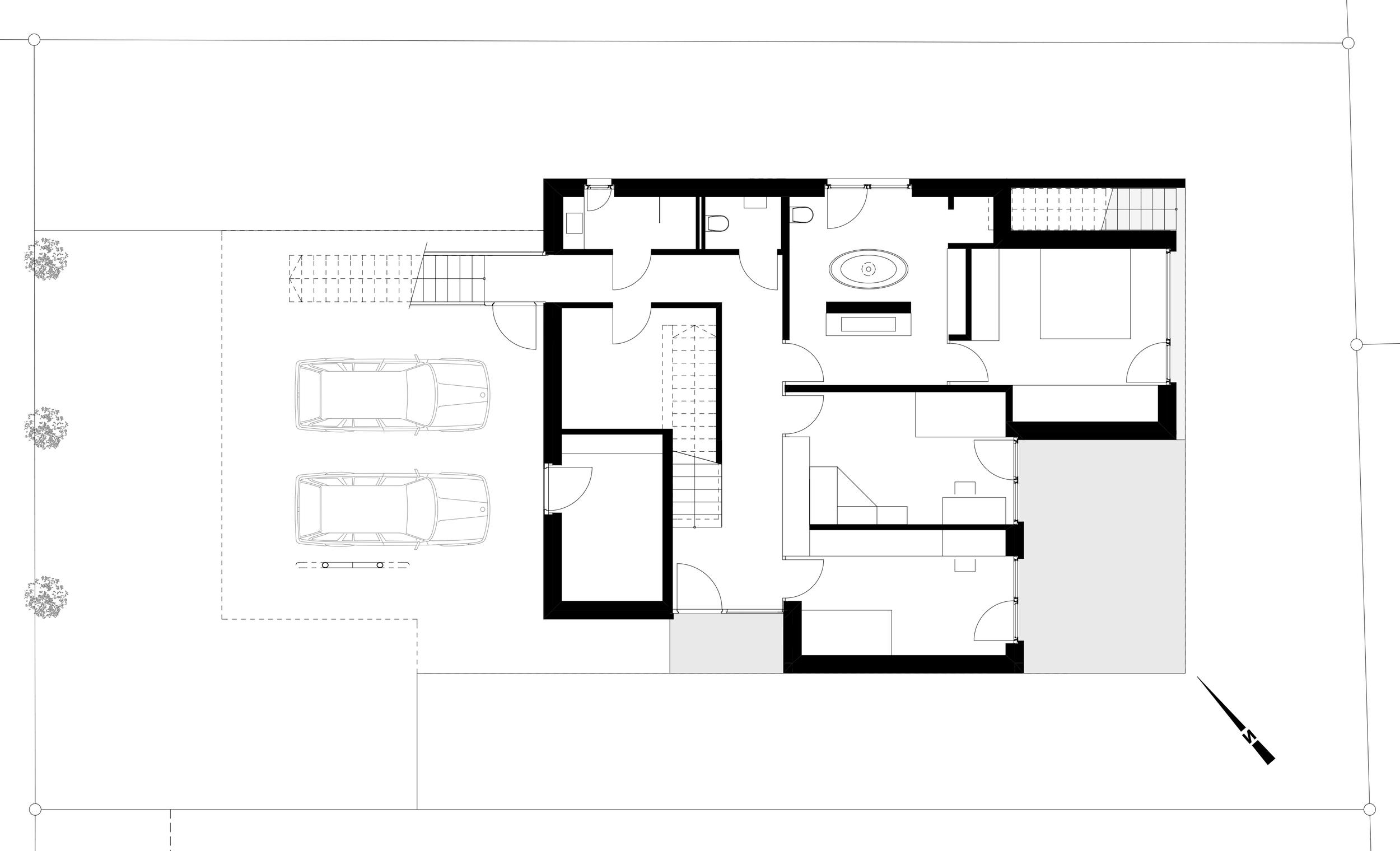 Haus Depaoli Erdgeschoss