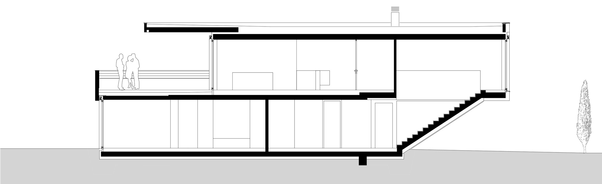 Haus Depaoli Schnitt