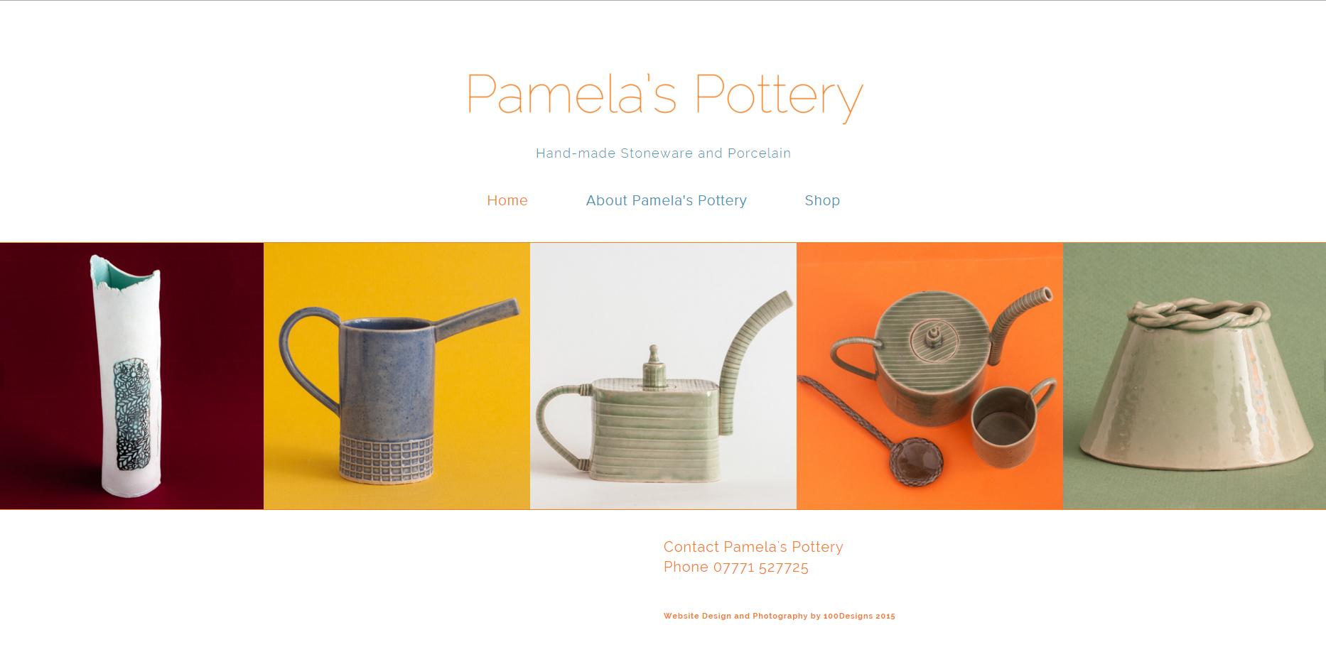 Pamela's Pottery Home Page