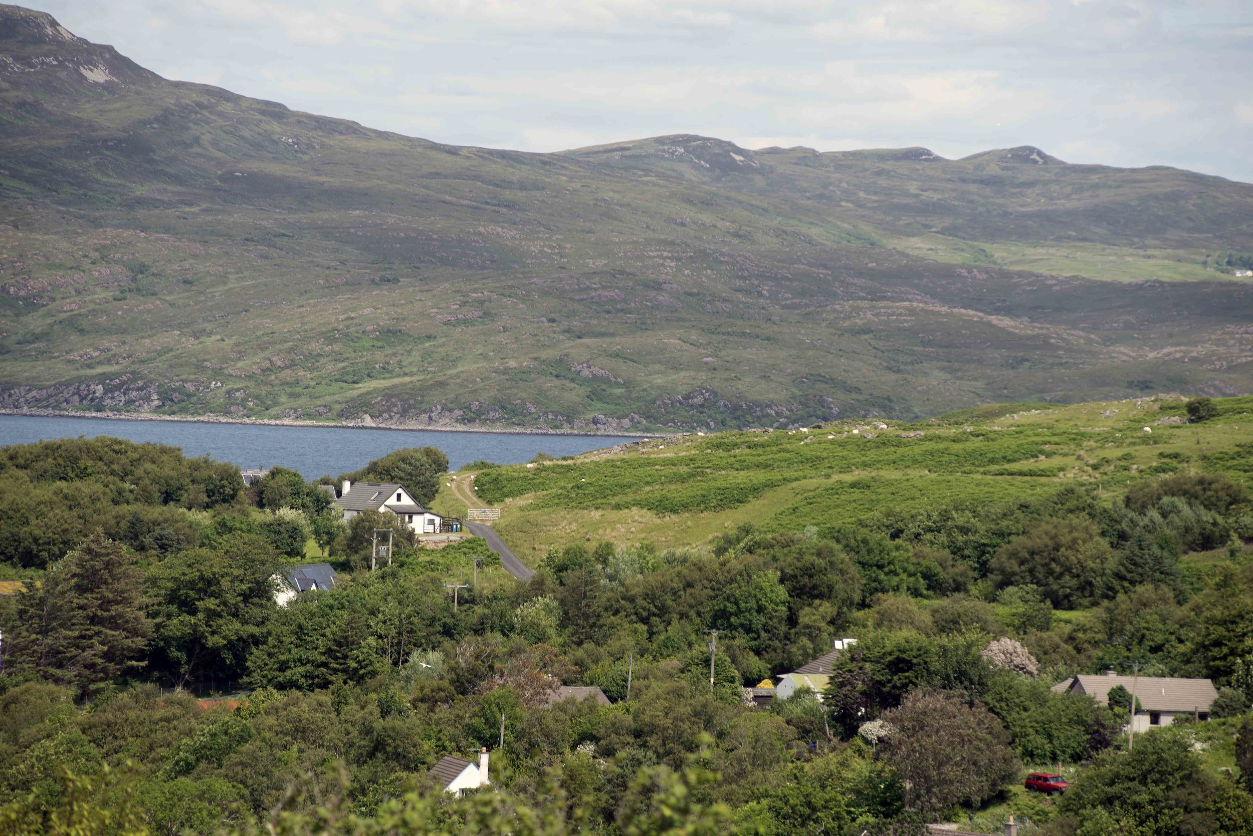 View of Osag na Mara Skye Bed and Breakfast from hill.jpg