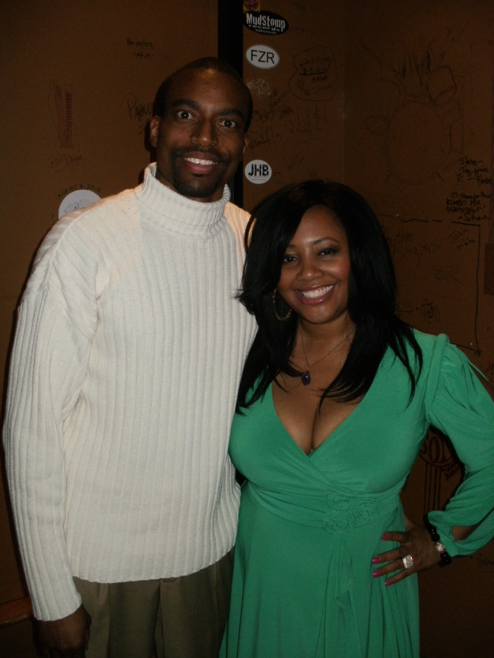 Lalah Hathaway at The Compound Grill. January 2012.