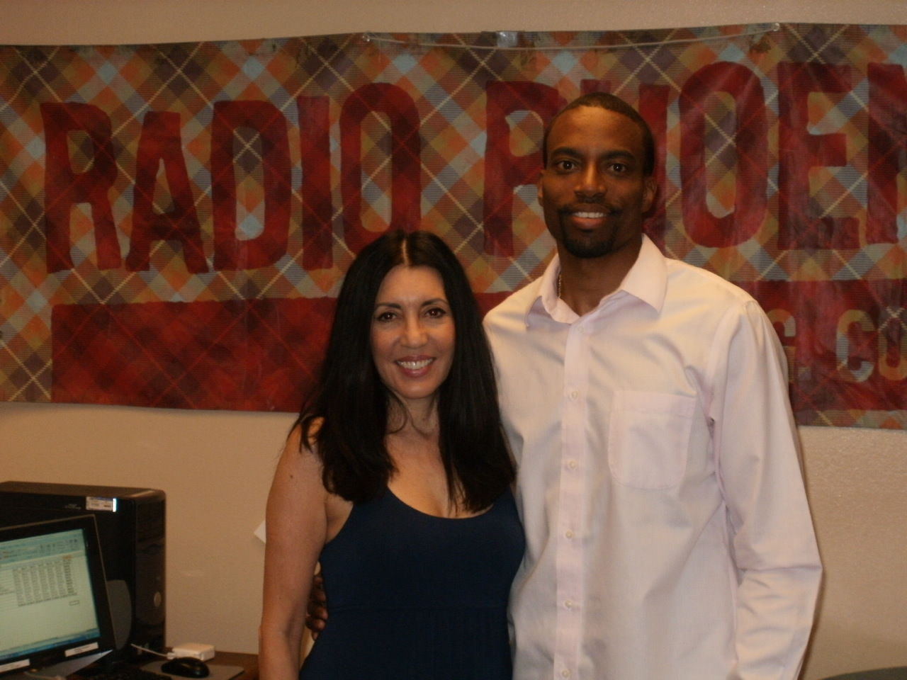 Khani Cole at the Radio Phoenix Studio. 6-24-2012.