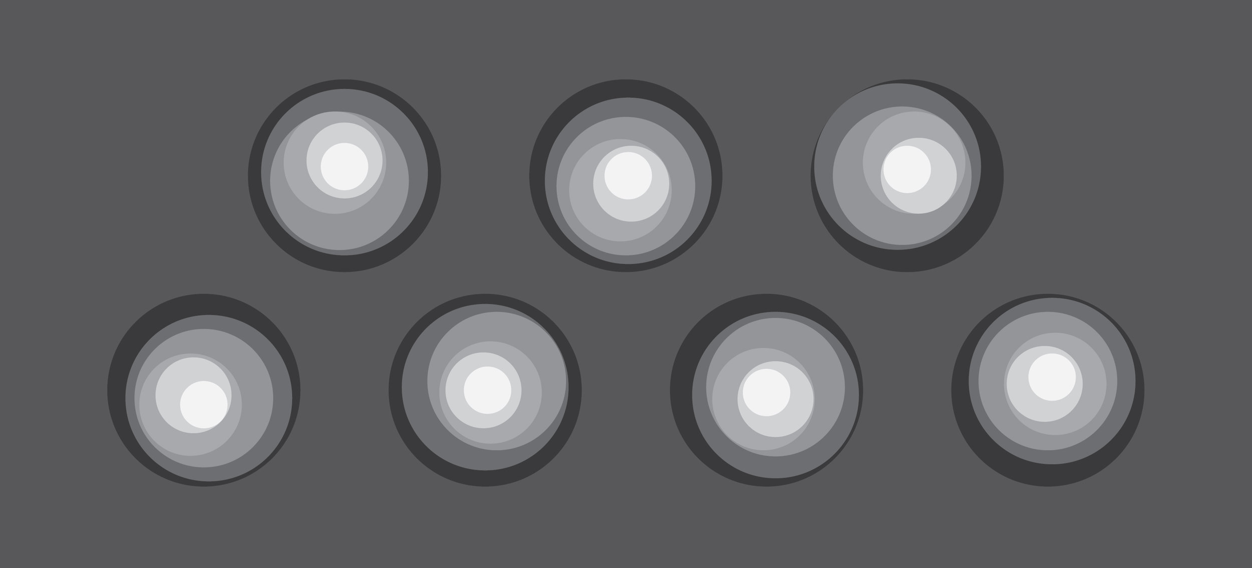 The random light effect looks like raindrops hitting water to create water ripples. -