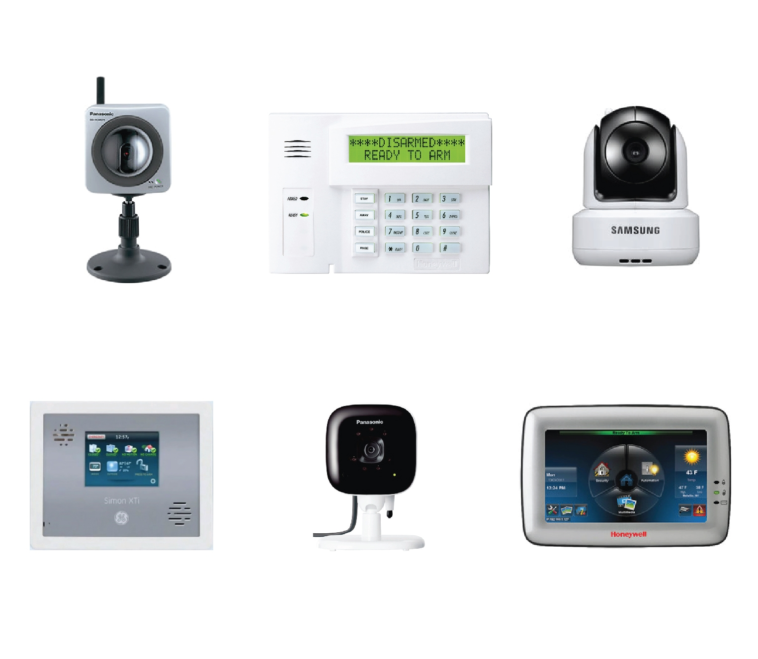 We found that the security systems in the market today mostly...- Require professional installation and setup.- Requires drilling or nailing into wall structures.- Are made of cheap looking plastic square panels.- Have lots of buttons or a touch screen that is hard to use.- Have rigid and intimidating looking camera.- Are designs that are not user friendly nor aesthetically pleasing.- Require monthly payments for full protection. -