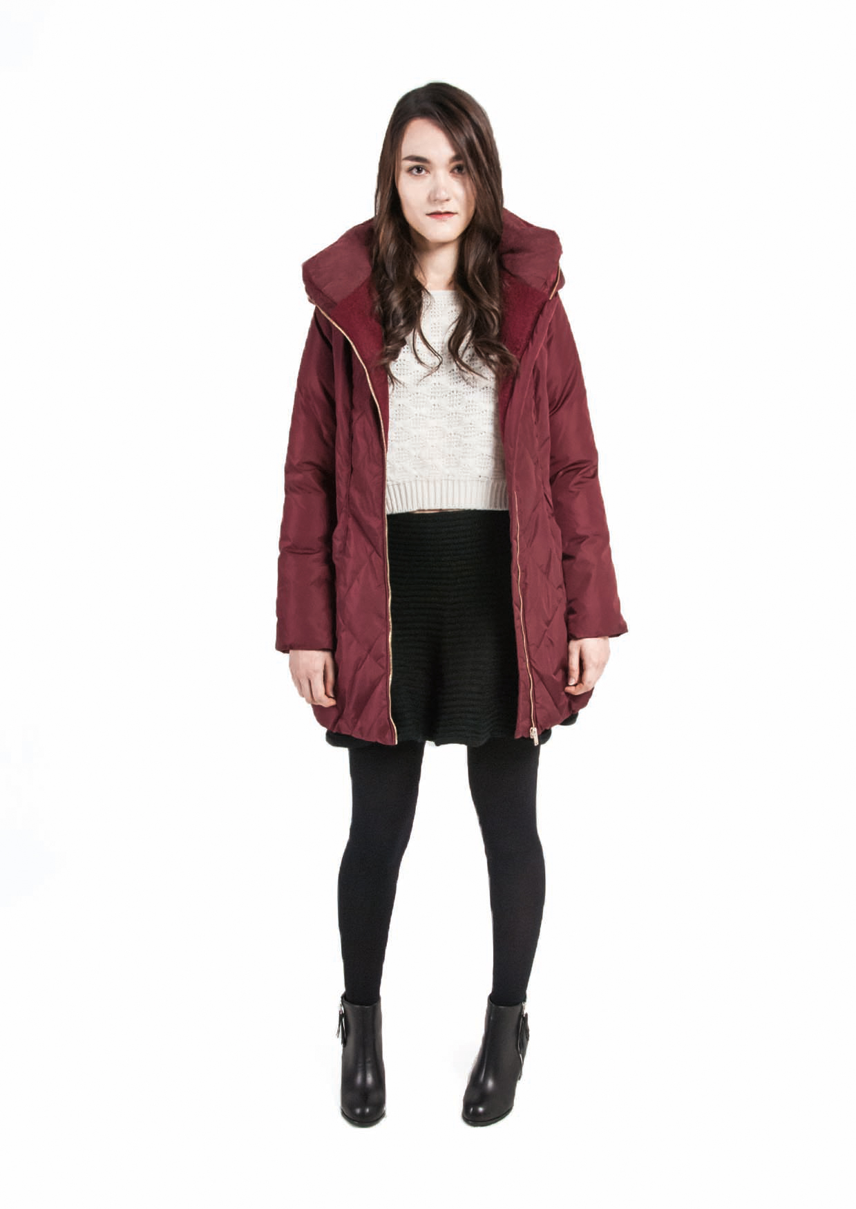 Basic Puffer Down Coat