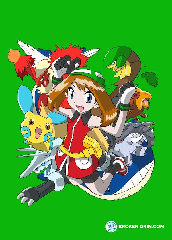 Pokemon Pop Art - Featuring May