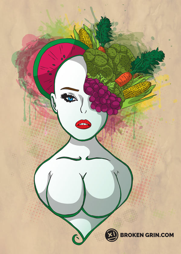Lady in Veg - Just Because