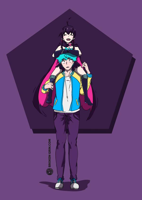 Love Tyrant Pop Art - Featuring: Seiji and Guri