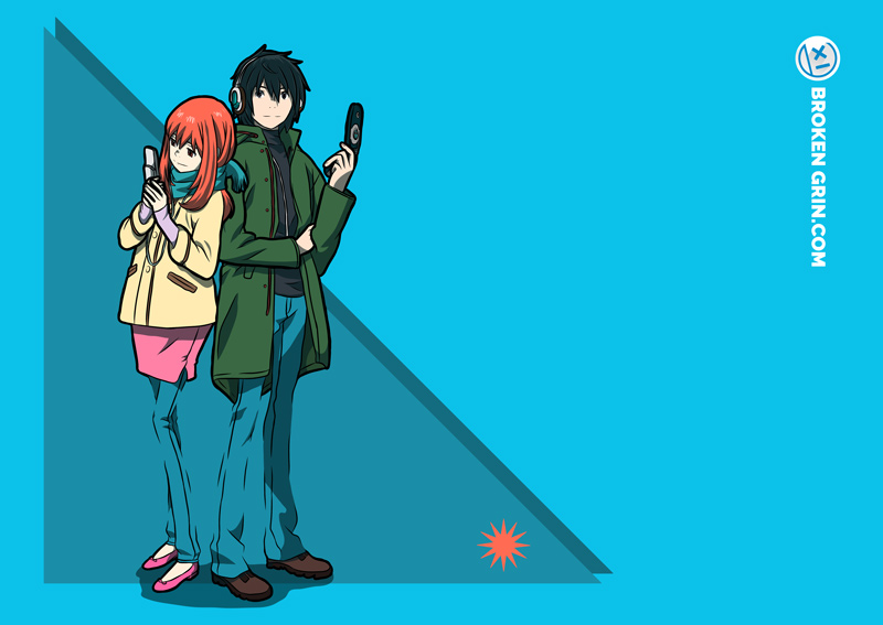 Eden of the East - Featuring: Akira and Saki