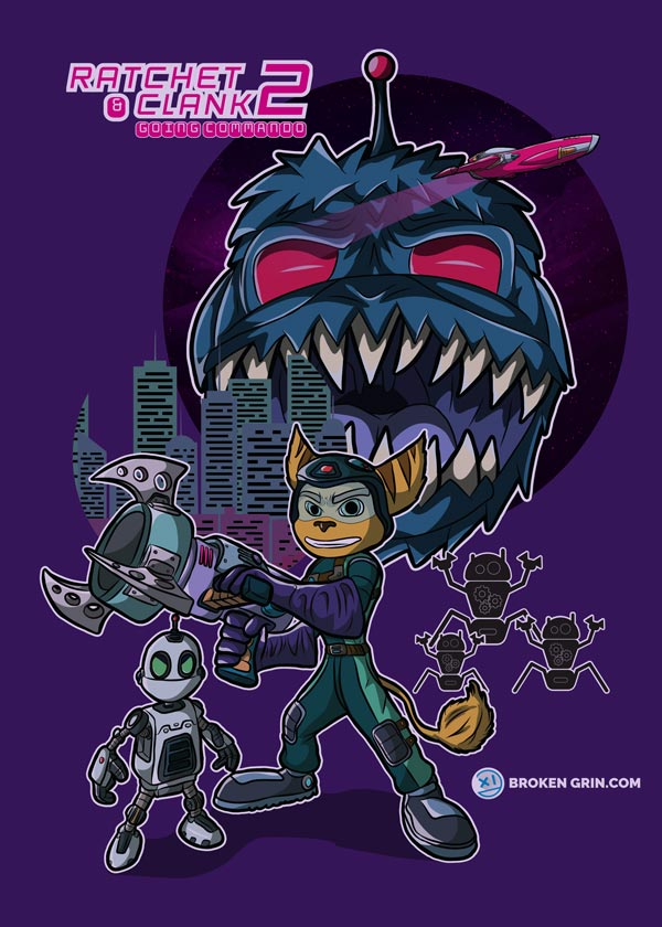 Ratchet and Clank 2 Alt Art -