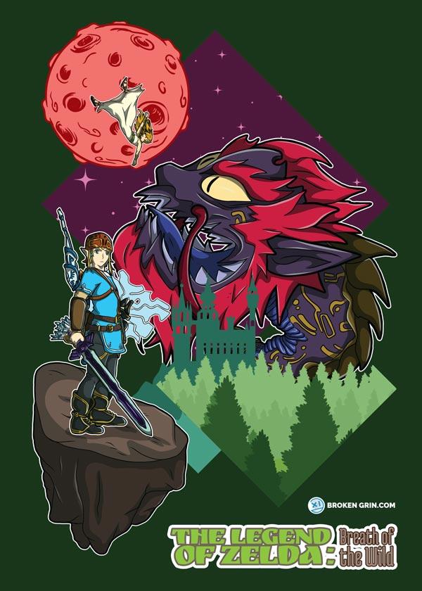 The Legend of Zelda, Breath of the Wild - Alt Art