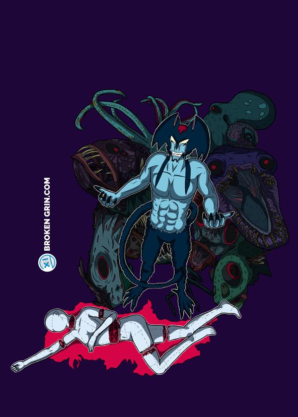 Devilman Crybaby - Anime Art