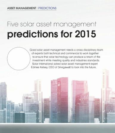 solar asset management prediction