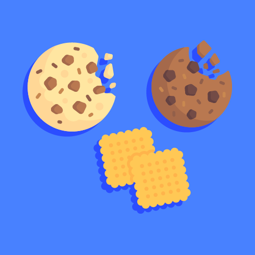 <a href='https://www.freepik.com/free-vector/bitten-chocolate-cookie_760335.htm'>Designed by Freepik</a>