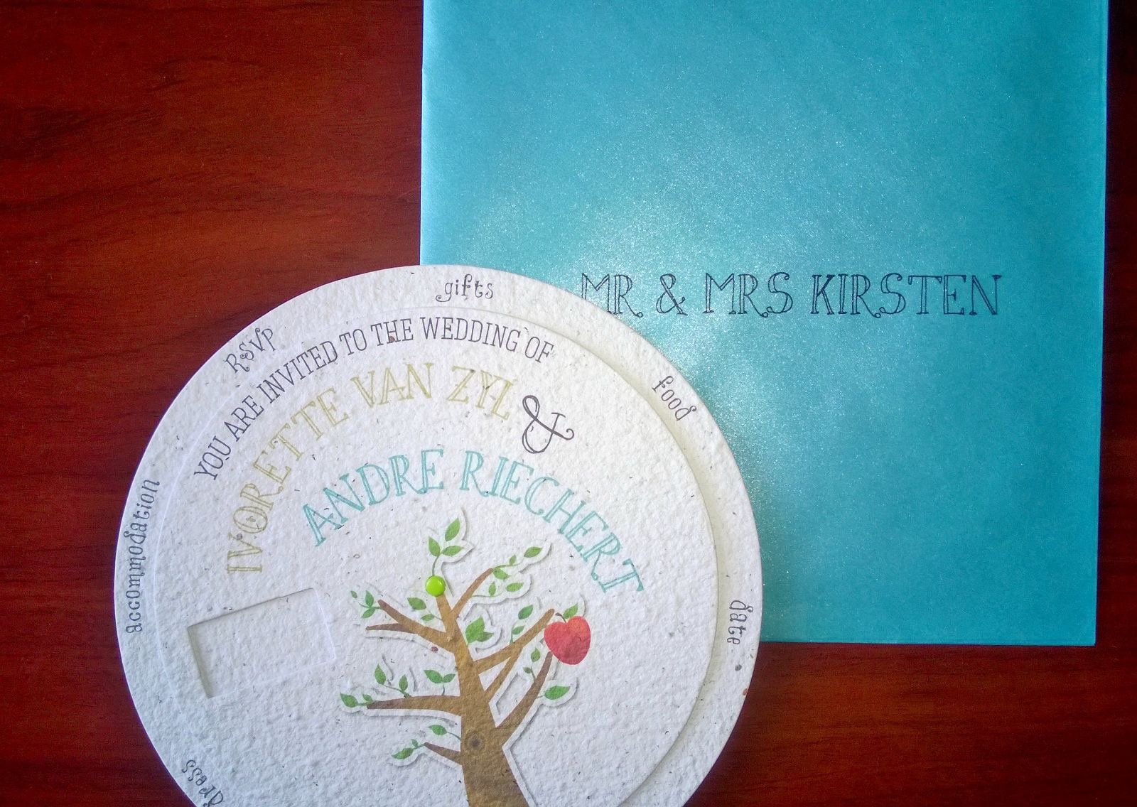 Growing Paper Invitations