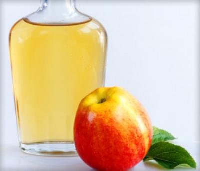 STEP 3:Organic Apple Cider Vinegar Rinse