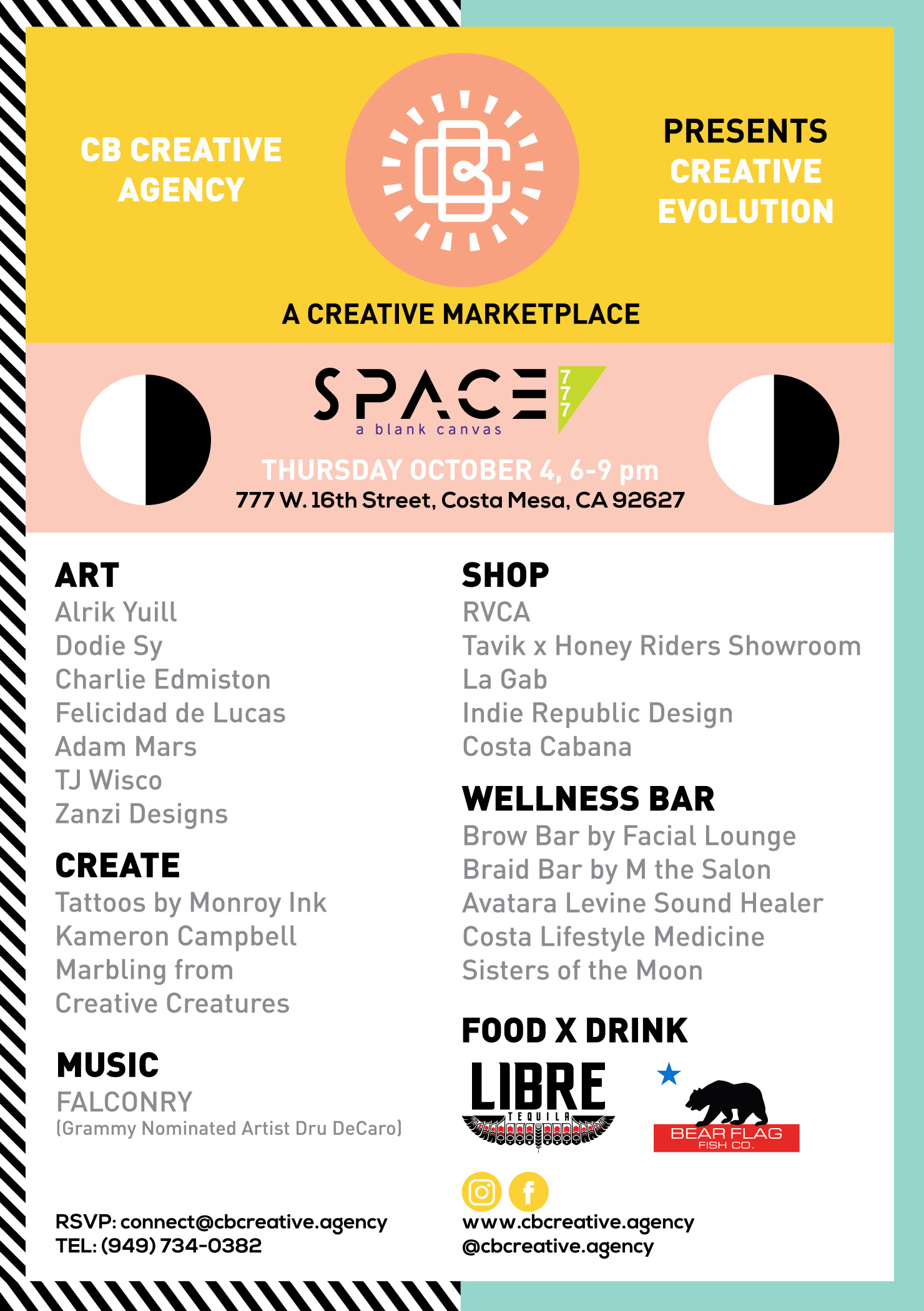 CREATIVE EVOLUTION EXHIBITION - OCTOBER 4TH 2018 6-9PM777 W 16TH STREET, COSTA MESA, CADebuting
