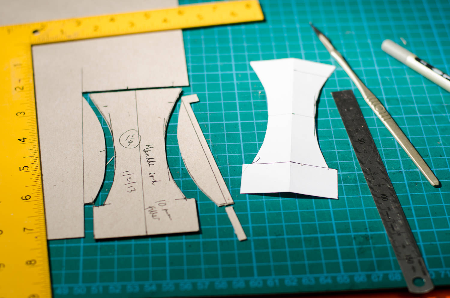 Cutting patterns