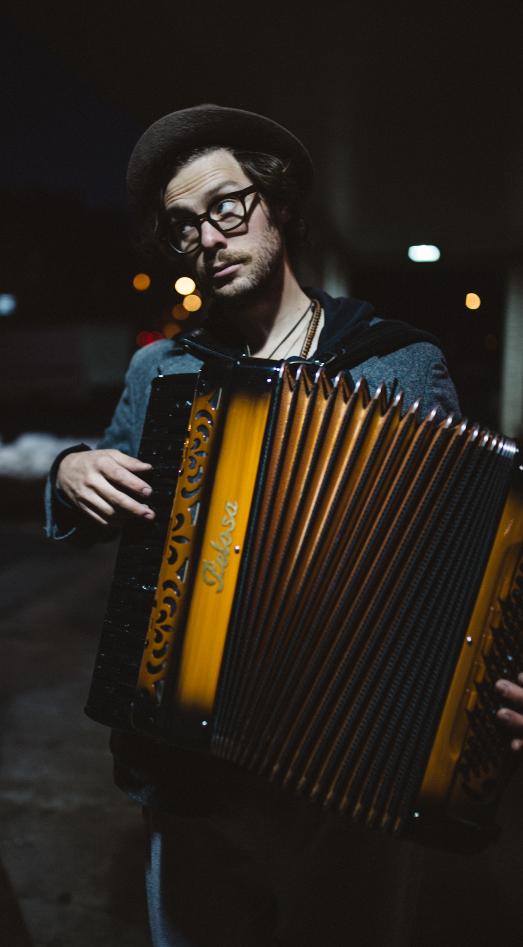 Stelth Ulvang of The Lumineers - Durham, NC Musician Portraits