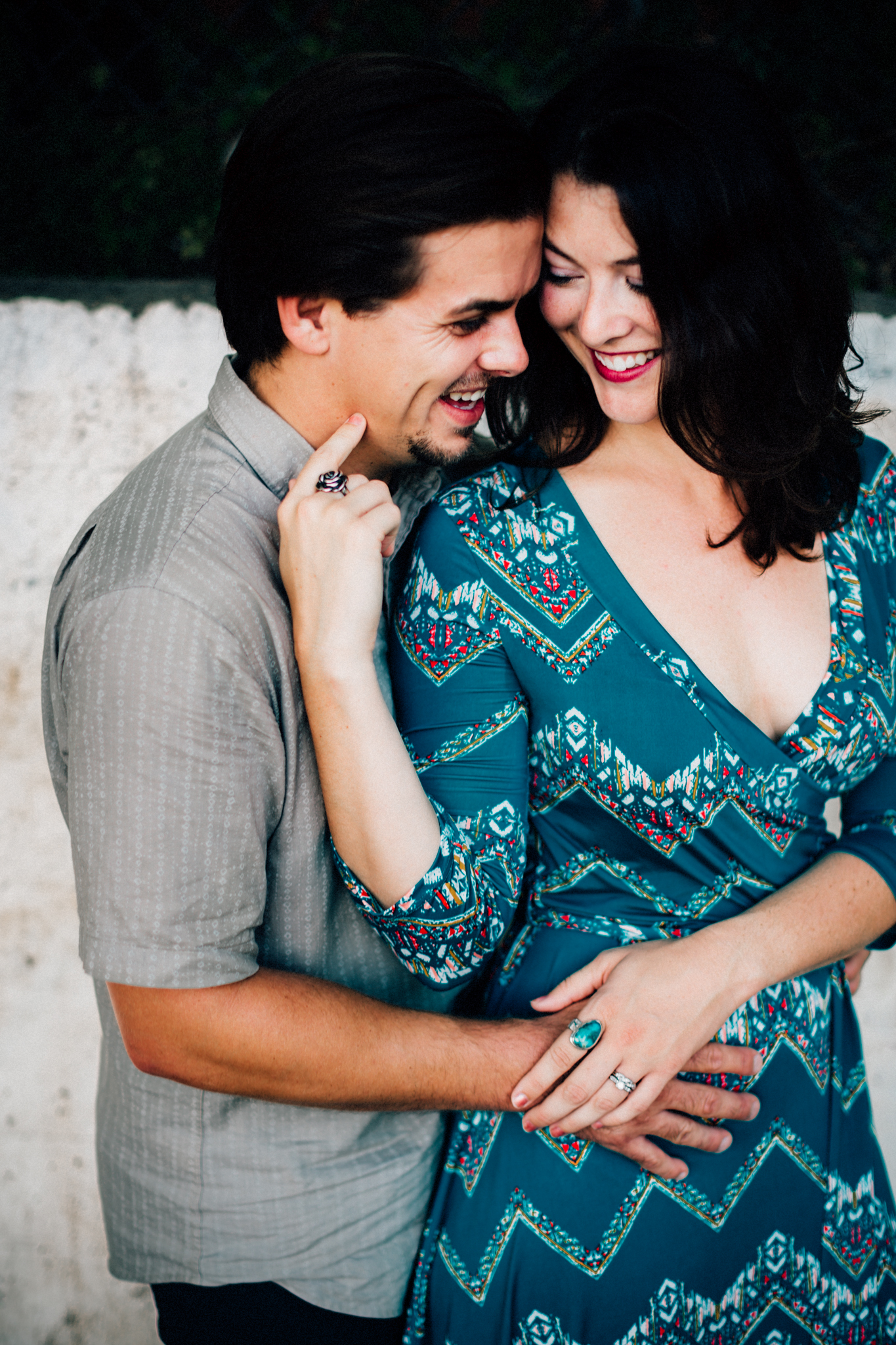 Downtown Durham Engagement Photographer