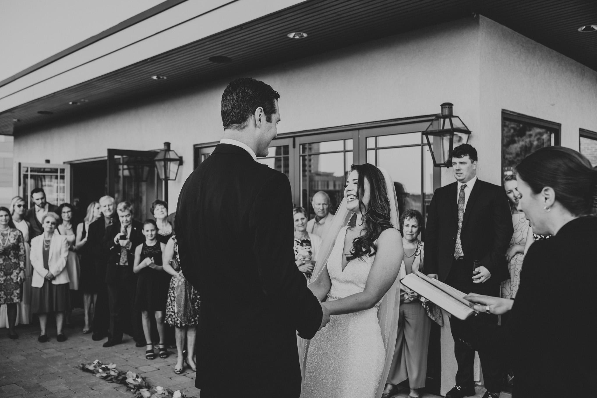 Outdoor wedding Durham NC