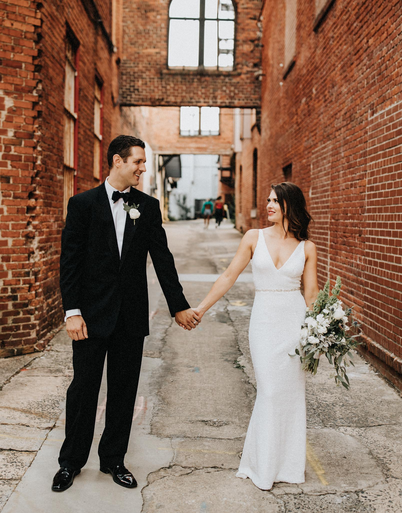 Southern Bride and Groom