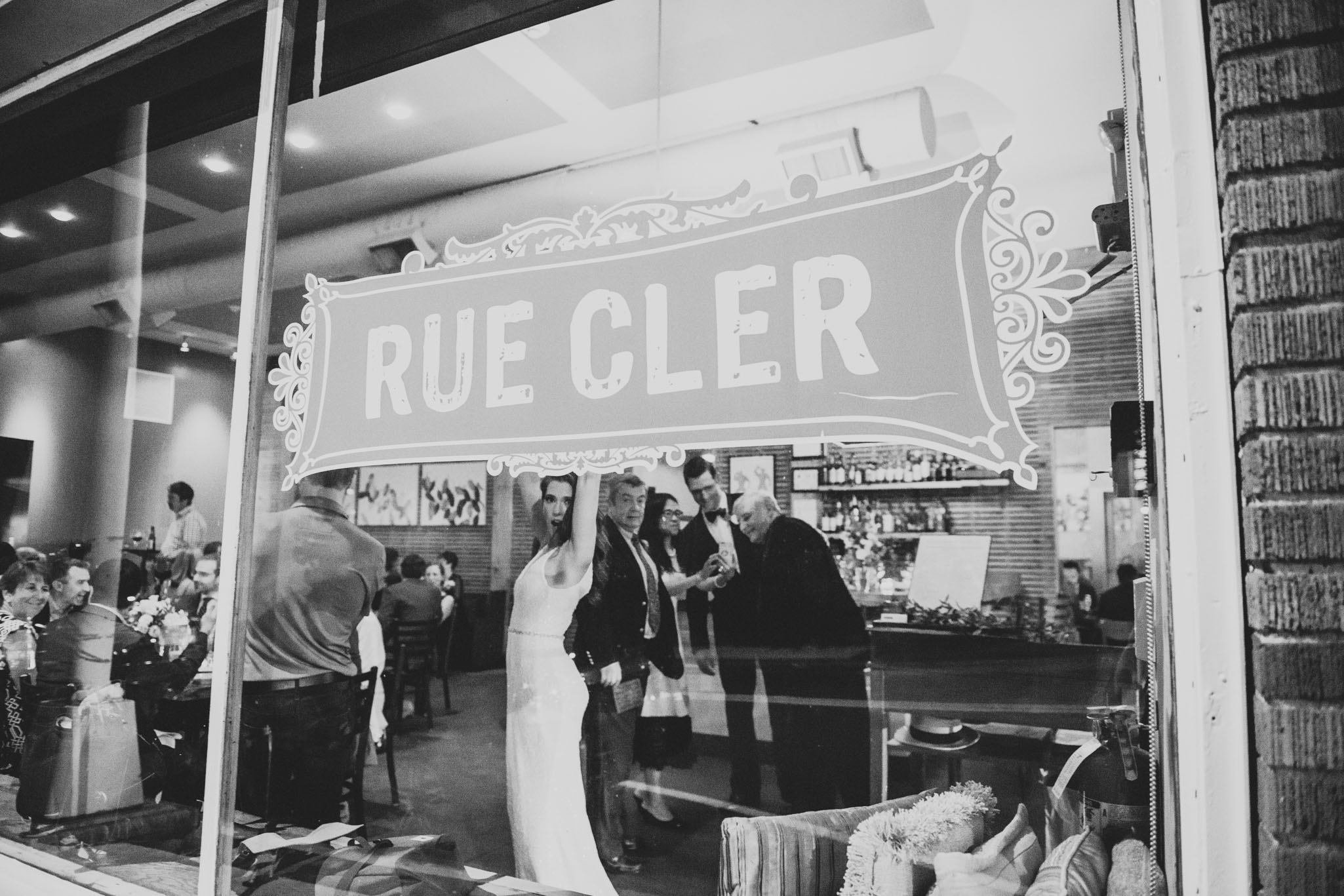 Wedding Reception at Rue Cler in Durham NC